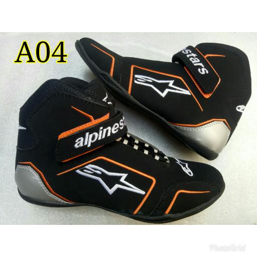 harga Sepatu drag touring cornering alpinestar 04 Tokopedia.com