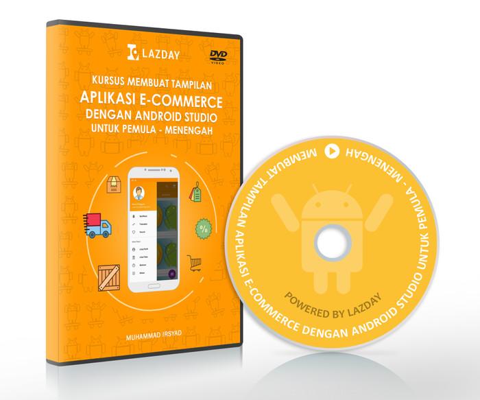 Foto Produk Tutorial Membuat Tampilan Aplikasi E-Commerce dengan Android Studio dari warung belajar