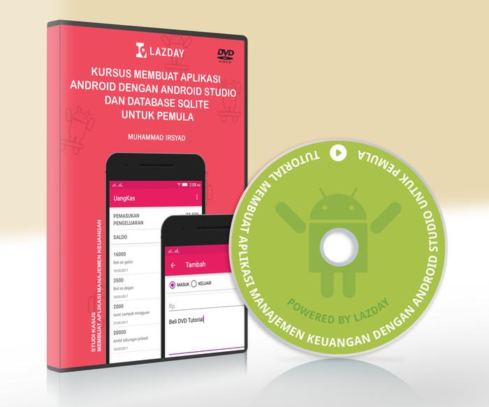 Foto Produk DVD Membuat Aplikasi Keuangan Dengan Android Studio Dan SQLite dari warung belajar