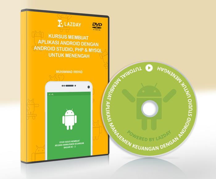Foto Produk Tutorial Membuat Aplikasi Android Dengan Android Studio & PHP  Mysql dari warung belajar