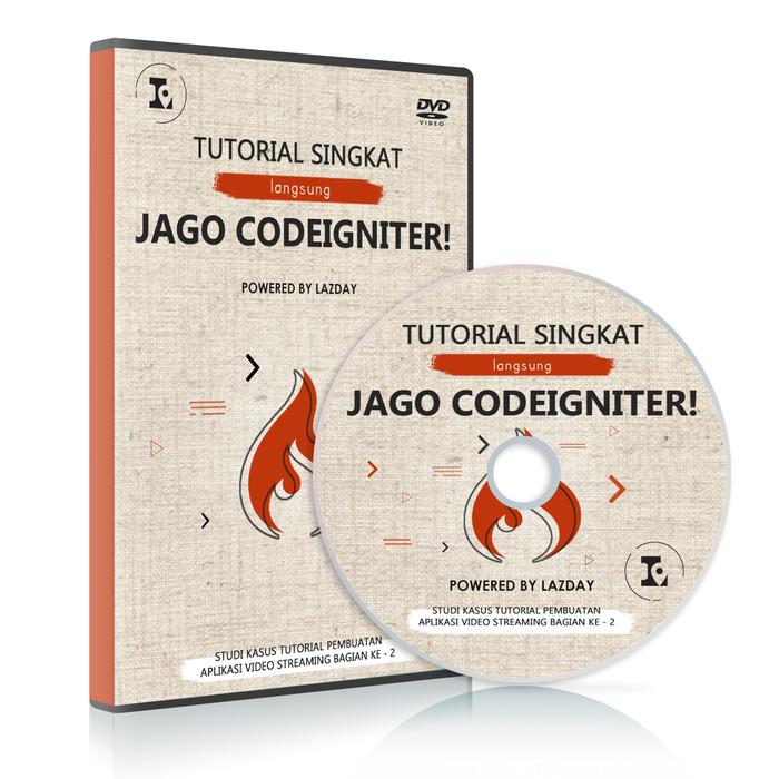 Foto Produk Tutorial singkat langsung jago framework codeigniter dari warung belajar