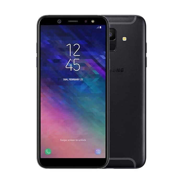 Jual Samsung Galaxy A6 2018 3 32gb Garansi Resmi Black Sinar