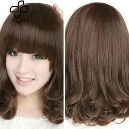 Jual Wig Rambut Palsu Perempuan Tahan Panas Panjang Keriting - Glory ... 63097d7d51