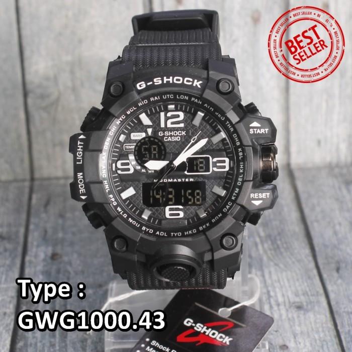 Model Terbaru !! G - Shock Casi0 Gwg1000 Black Jam Tangan Pria Skmei
