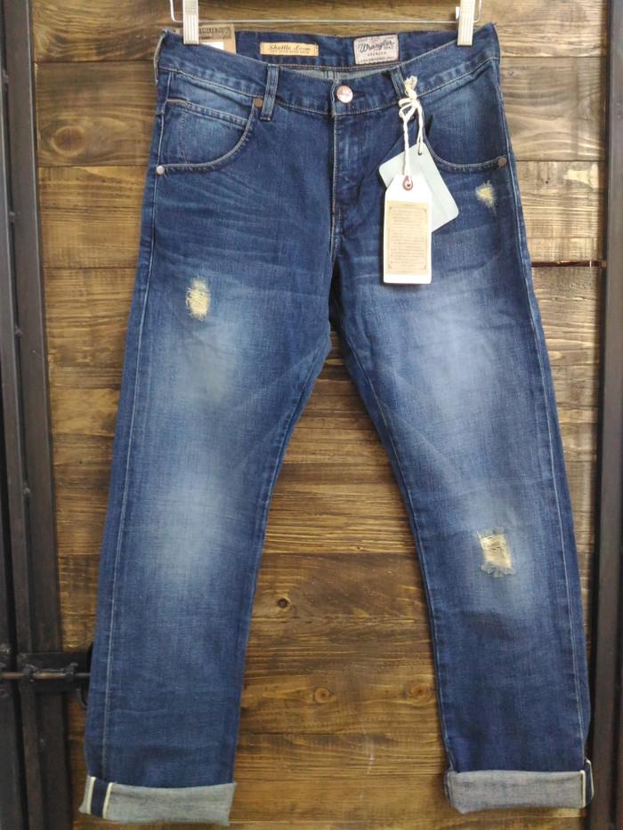 Celana Jeans Wrangler Selvedge Original