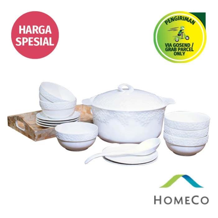 harga Homeco ceramic dinner set Tokopedia.com
