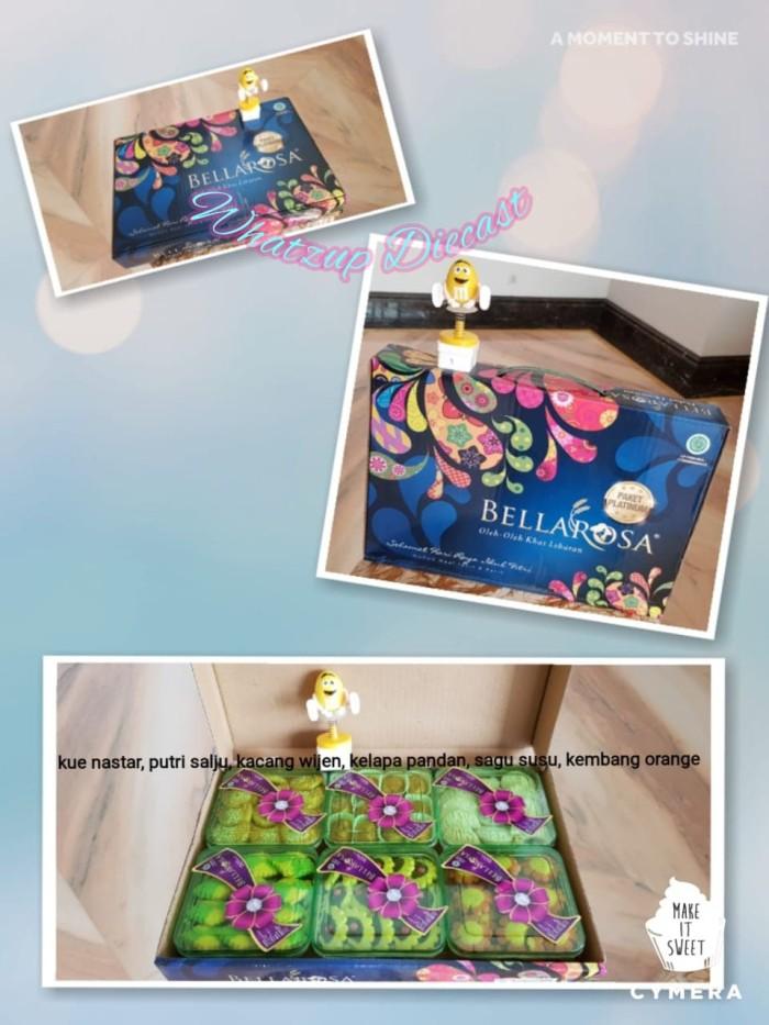 ... harga Bellarosa paket platinum (kue kering lebaran) - isi 6 toples exp 2019 Tokopedia