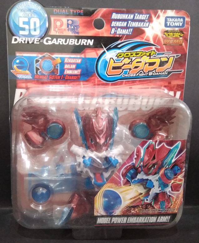 harga B-daman cross fight - takara tomy drive=garuburn Tokopedia.com