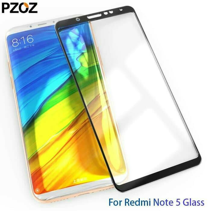 Xiaomi Redmi Note 5 Pro Tempered Glass Anti Gores Kaca Full Hp NOTE5