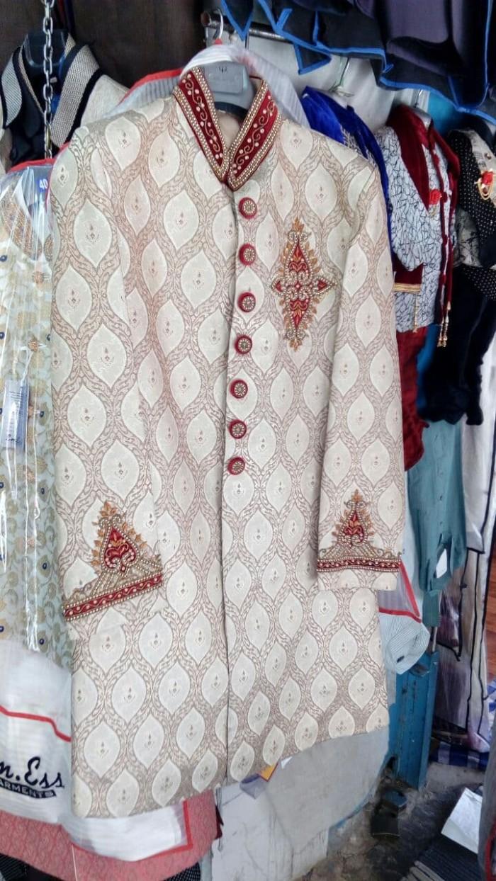 Jual Sherwani 3a Setelan Jas Blazer Pengantin Import India Jas Pernikahan Kota Surakarta Kamalika Fashion Shop