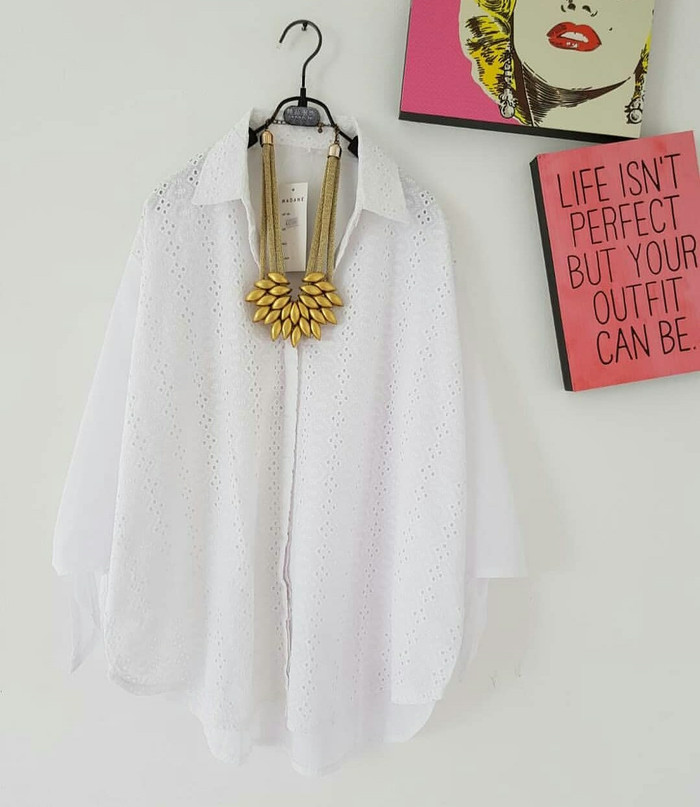 ... pakaian pesta baju wanita terusan sweet. Source · Flavia Store Blouse Lengan Pendek Pundak Bolong FS0547 - ABU-ABU MISTY / Baju Bahu