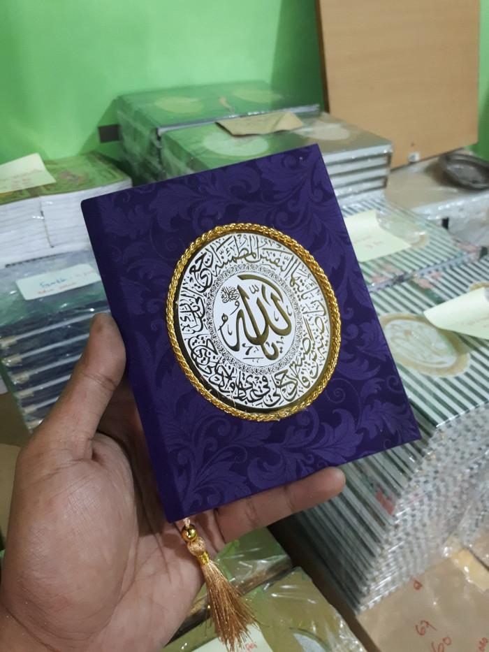 harga Cetak buku yasin beludru 176 hal mattpaper + siku + rumbai + plastik Tokopedia.com