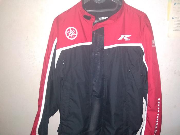 harga Yamaha r concept 01 jaket motor - red (baru dan original) Tokopedia.com