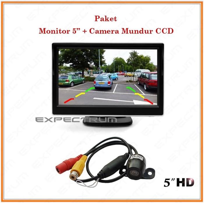 harga Monitor tv ondash 5 inch - paket monitor tv 5 inch & kamera ccd Tokopedia.com