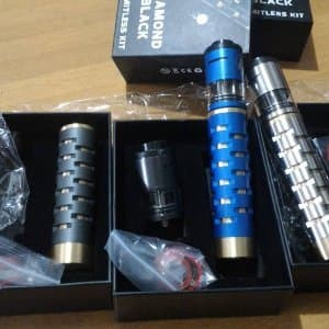 IJOY Limitless Diamon Black Slave Kit with IJOY Limitle Murah