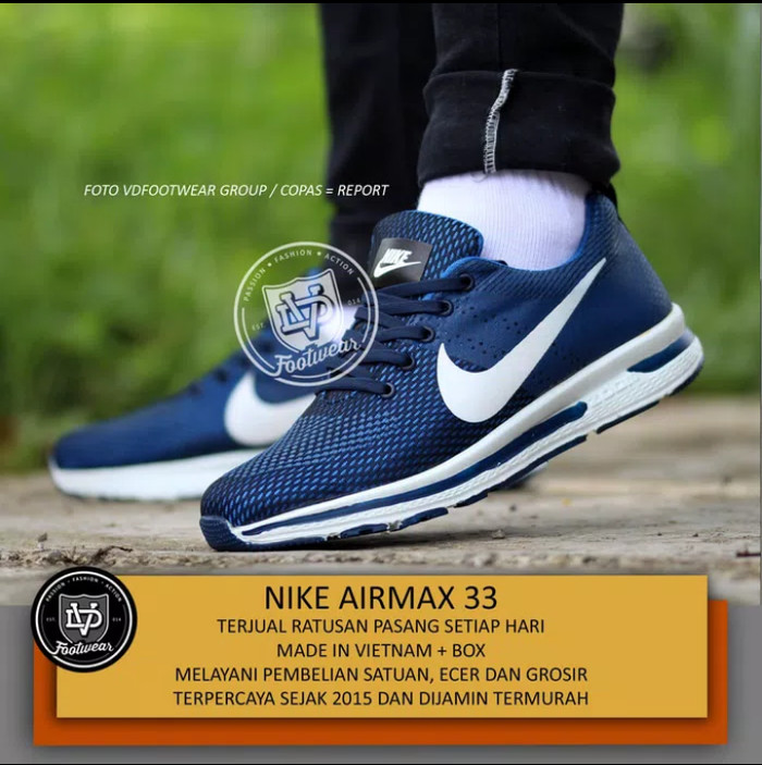 Jual Sepatu NIKE AIR MAX Terbaru Sneakers Pria - collection store1 ... de85a9c817
