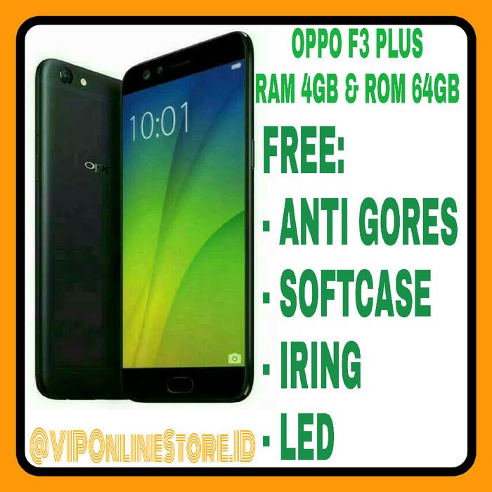 OPPO F3 PLUS NEW RAM 4/64GB GARANSI RESMI OPPO INDONESIA 1 TAHUN.