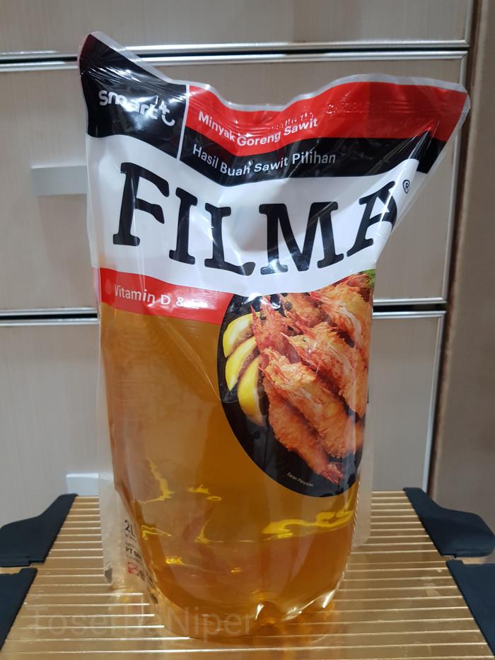Minyak goreng filma 2 liter pouch isi ulang filma minyak goreng