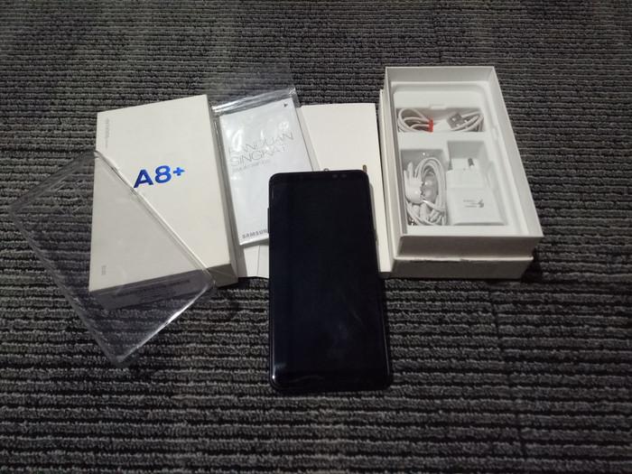 Foto Produk Samsung Galaxy A8 Plus SEIN Fullset dari Tokoacoy