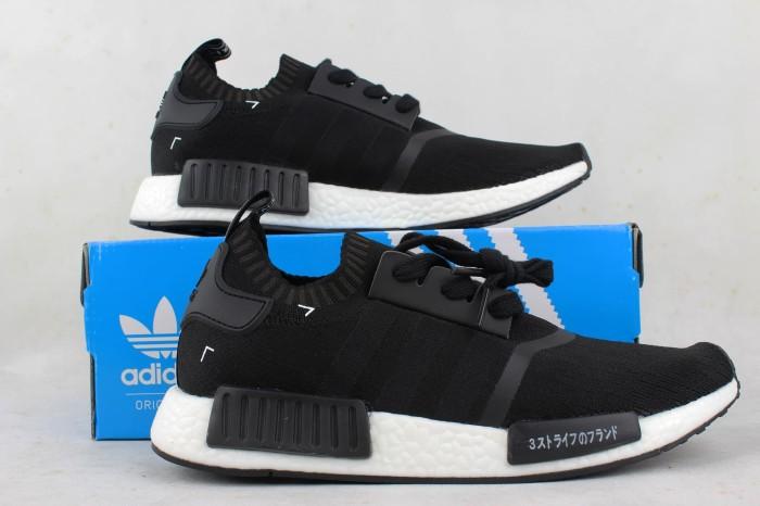 f09927807d5f3 Jual sepatu adidas NMD R1 S81847 BNIB PK Basf Boost Black Japan UA ...