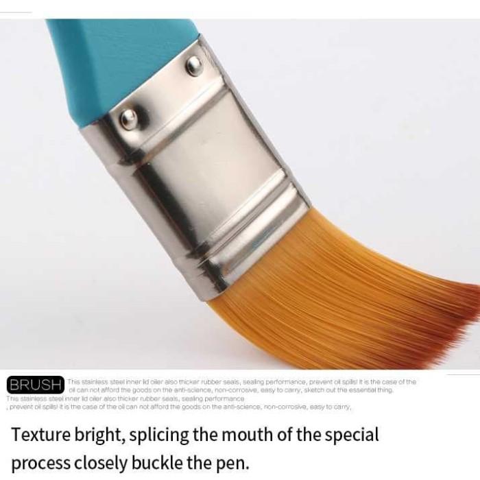 harga Kuas cat dinding tembok scrubbing acrylic art painting no.5 1pcs Tokopedia.com