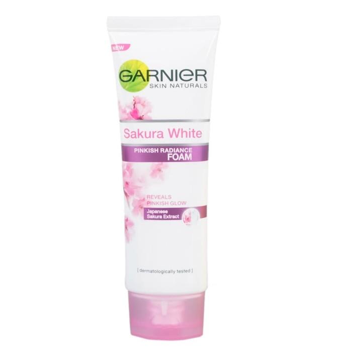 Garnier Sakura White Pinkish Radiance Facial Foam Cleanser 100ml