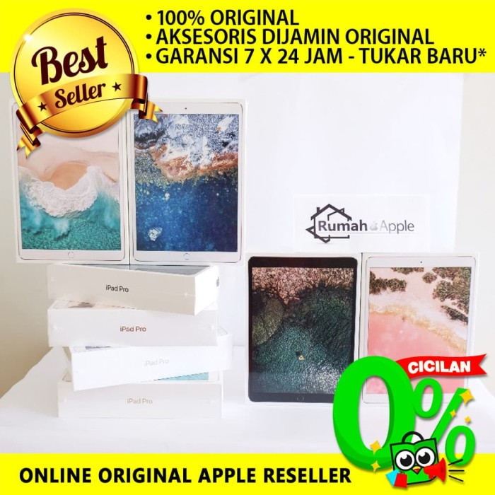 harga Apple ipad pro 10.5  inch wifi only 512 gb - garansi resmi apple Tokopedia.com