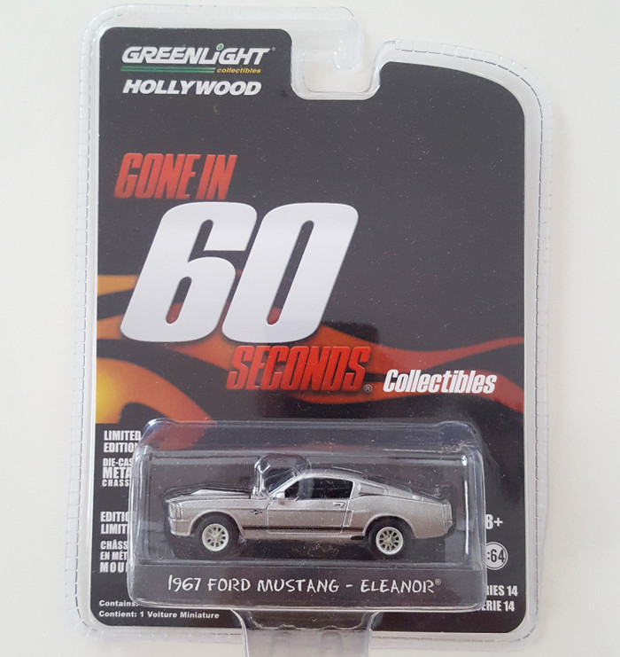 harga Greenlight 1967 ford mustang eleanor gone in 60 seconds Tokopedia.com