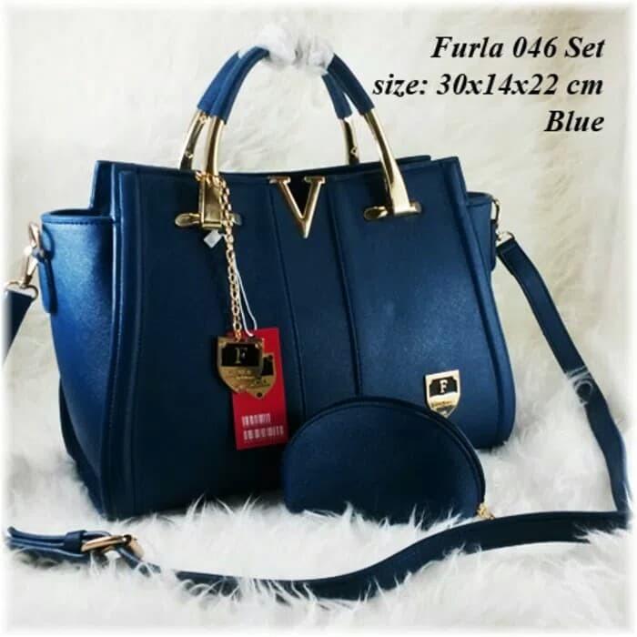 tas batam tas furla tas wanita premium tas pesta tas branded import - Ungu