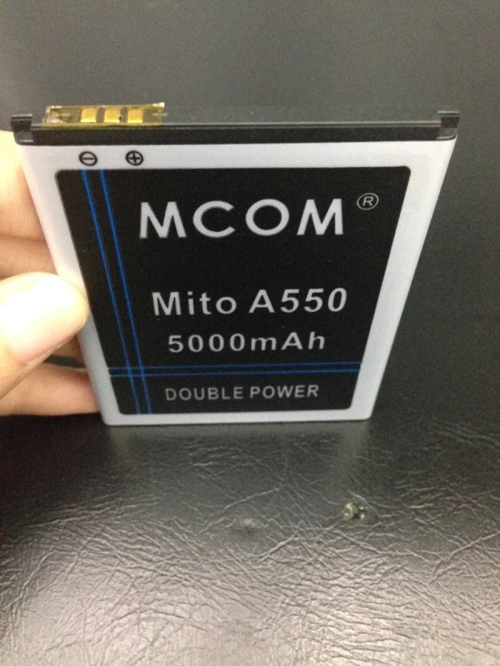 Baterai BA-00119 Mito A550 5000mah Double Power Mcom