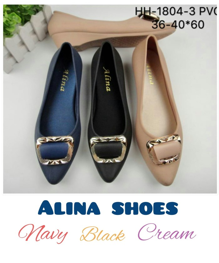 Foto Produk Sepatu wanita dewasa PVC HH-1804-3 HEELS dari Marie fashion