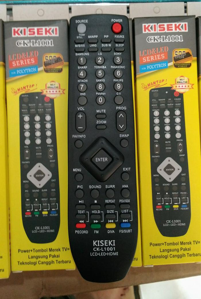 Jual Remote/Remote Tv Polytron Tabung, Flat, LCD, LED Universal Termurah -  Kab  Bandung - Global Elektonik Bdg | Tokopedia