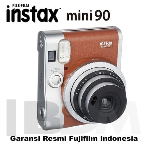 Jual Fujifilm Instax Mini 90 Neo Classic Brown Cek Harga Di