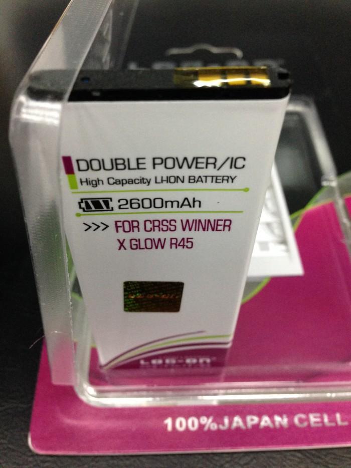 harga Baterai evercoss r45 winner x glow 2200mah double power log on Tokopedia.com