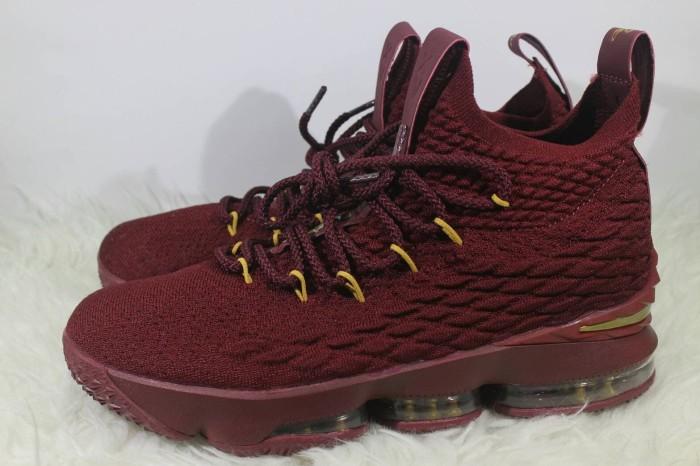 wholesale dealer 804f3 e72ac Jual Sepatu Nike Lebron 15 Wine Wine Red Maroon Gold - DKI Jakarta -  Sepatuku Store   Tokopedia