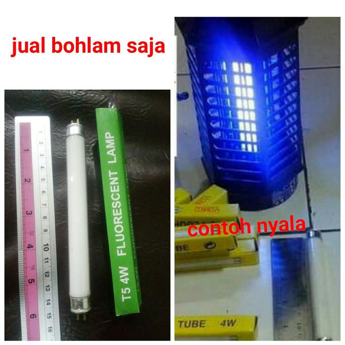 harga Lampu anti (perangkap) nyamuk uv ultraviolet (t5/4w) alat lampu tidur Tokopedia.com