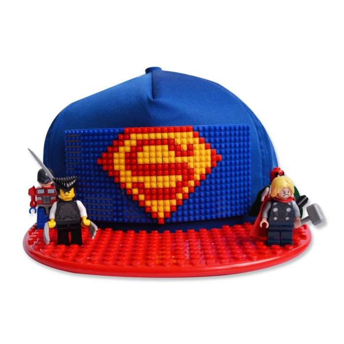 harga Topi brick biru Tokopedia.com