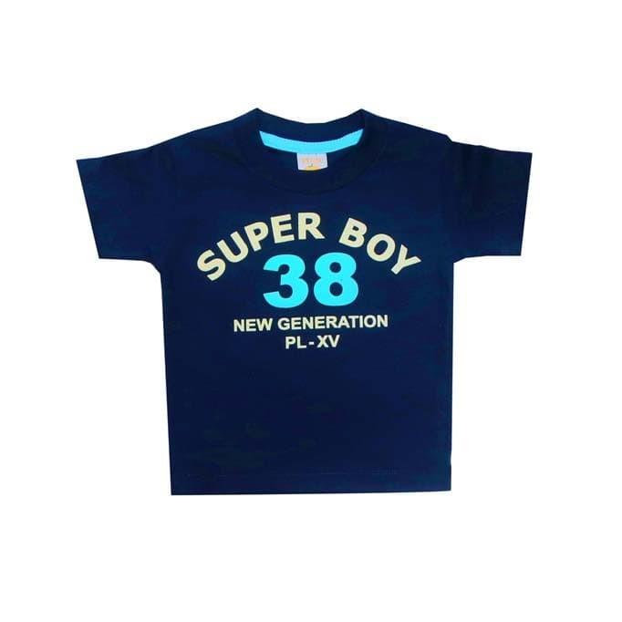 harga Baju bayi laki pleu t-shirt flocking - merah 12 bulan Tokopedia.com