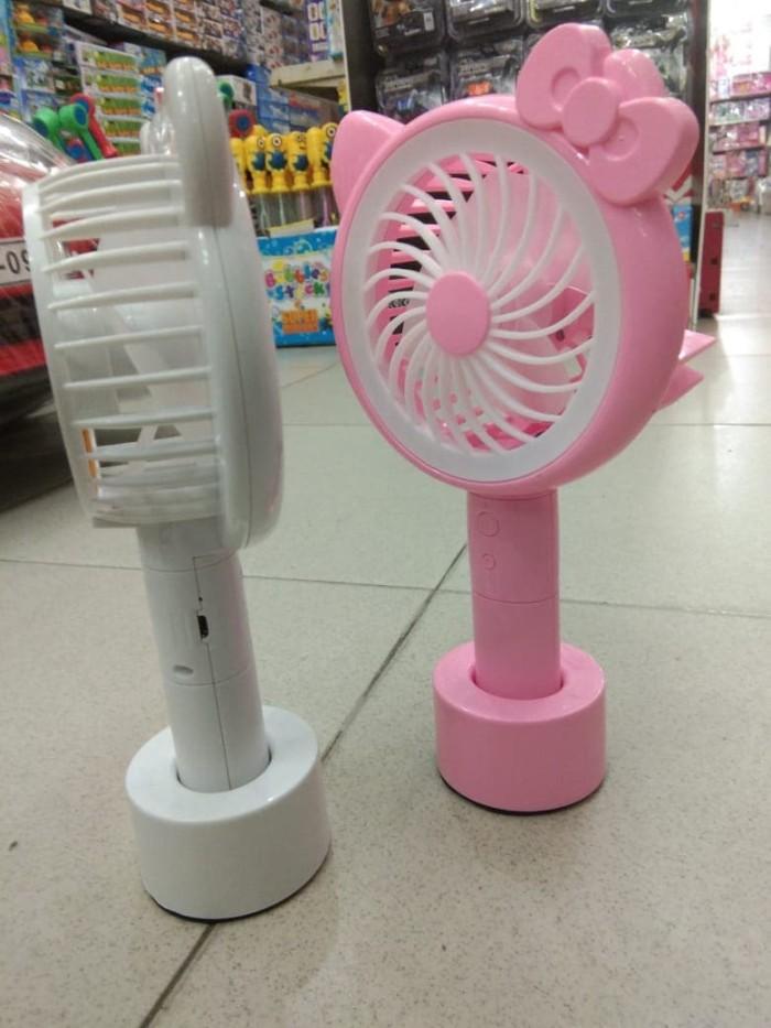 Mainan kipas angin mini fan (kipas angin batre)