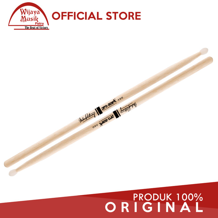 harga Promark stick hickory 420 mike portnoy nylon tip tx420n Tokopedia.com