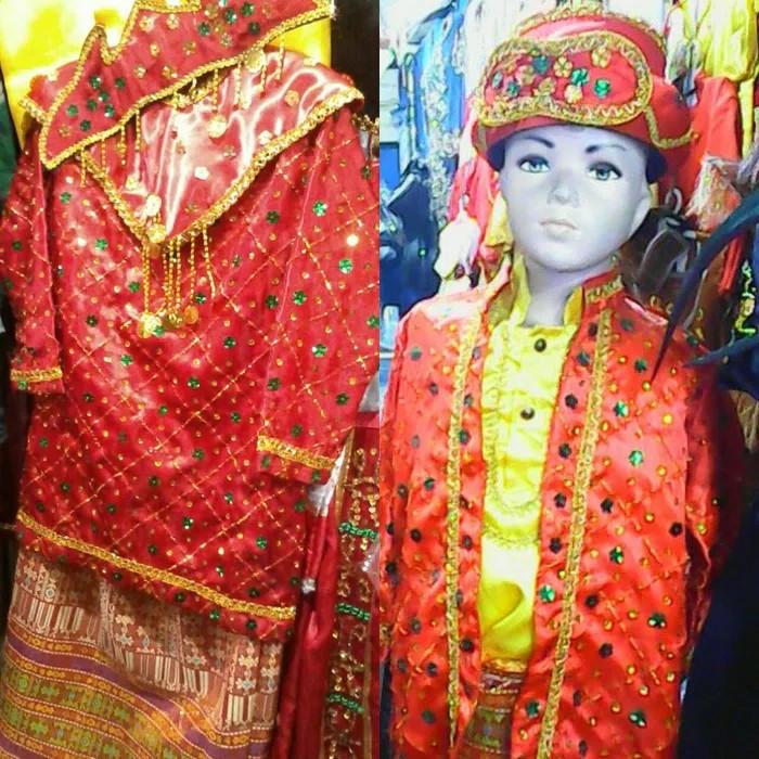 Foto Produk Baju adat Palembang // pakaian palembang anak dari Kanaya_Collection