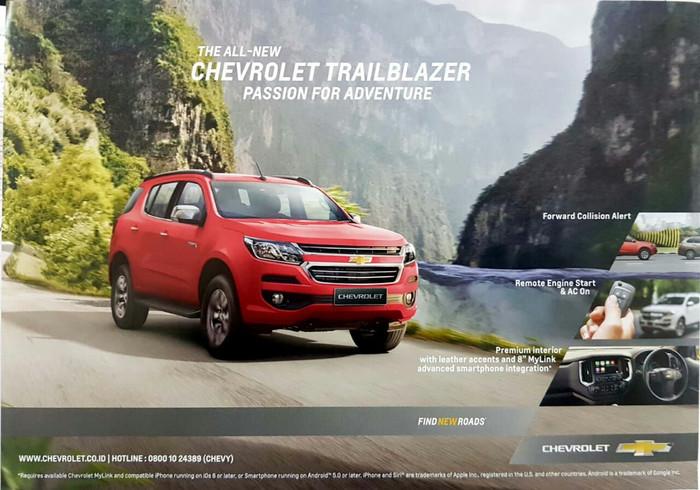Jual Chevrolet Trailblazer Jakarta Timur Chevrolet Sandjungan Adv Tokopedia