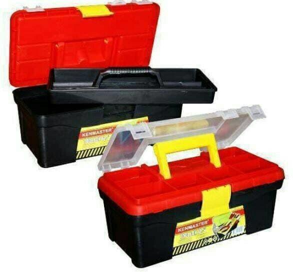 harga Toolbox tool box kenmaster 12.5 inch tempat perkakas dan komponen Tokopedia.com