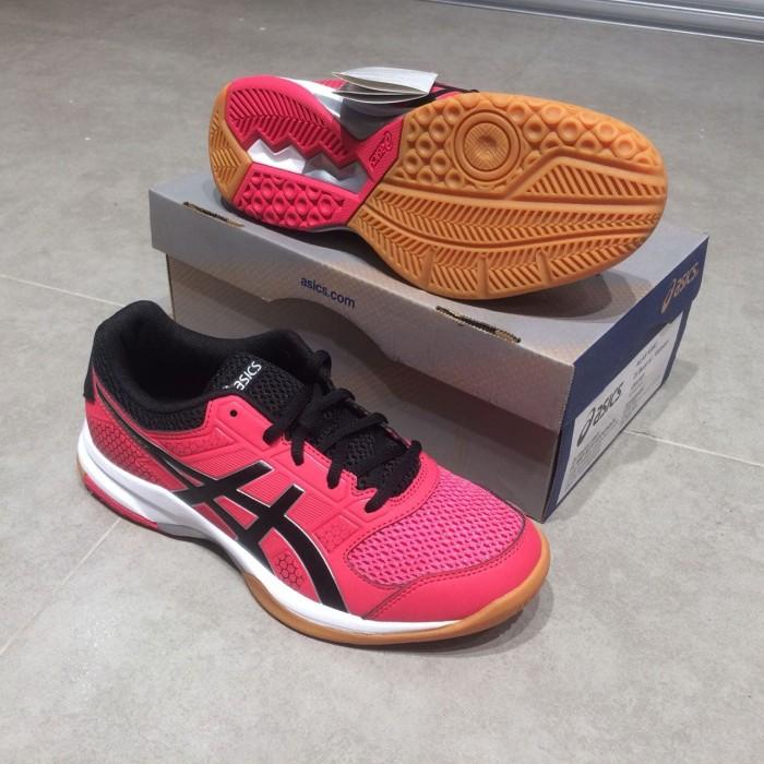 harga Sepatu asics gel-rocket 8 b756y-1990 pink women volley Tokopedia.com