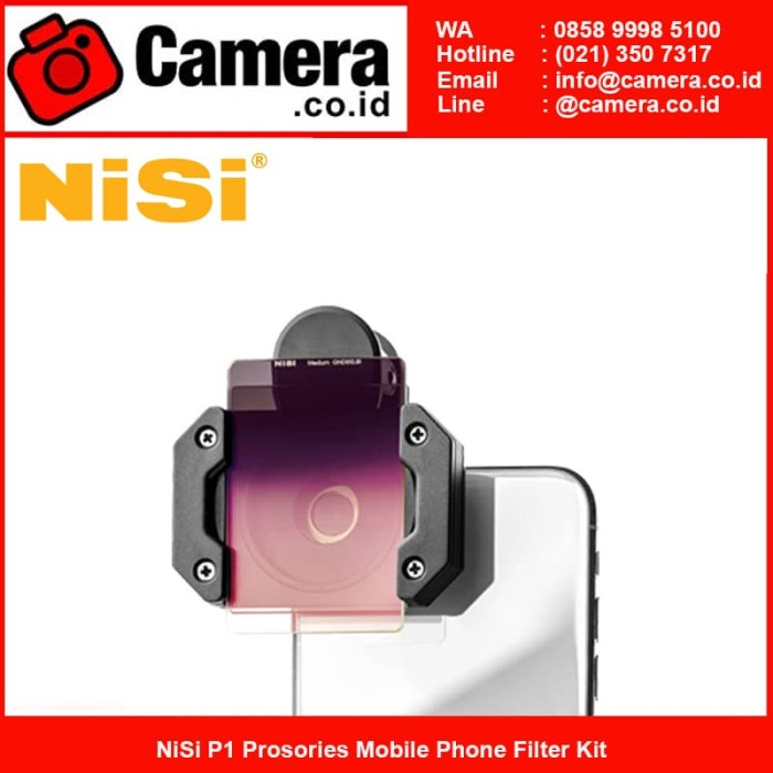 harga Nisi p1 prosories mobile phone filter kit Tokopedia.com