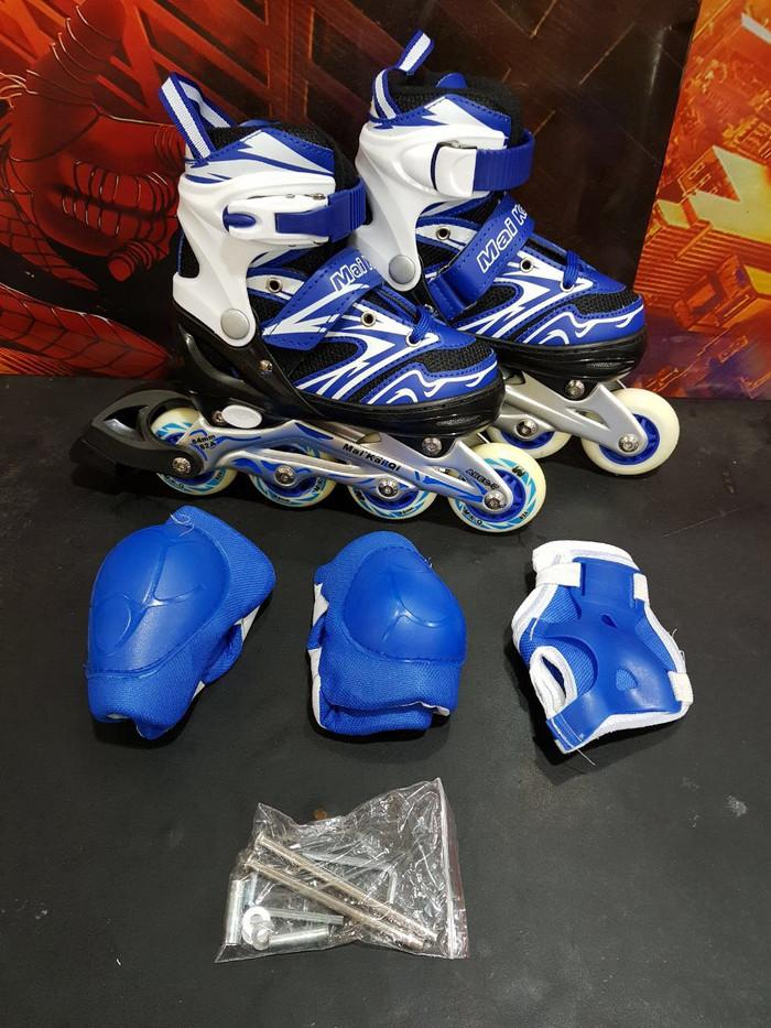 harga Sepatu roda anak inline skate bisa set roda bajaj Tokopedia.com