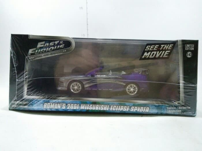 Greenlight Roman's 2001 Mitsubishi Eclipse Spyder Fast Furious 1/43
