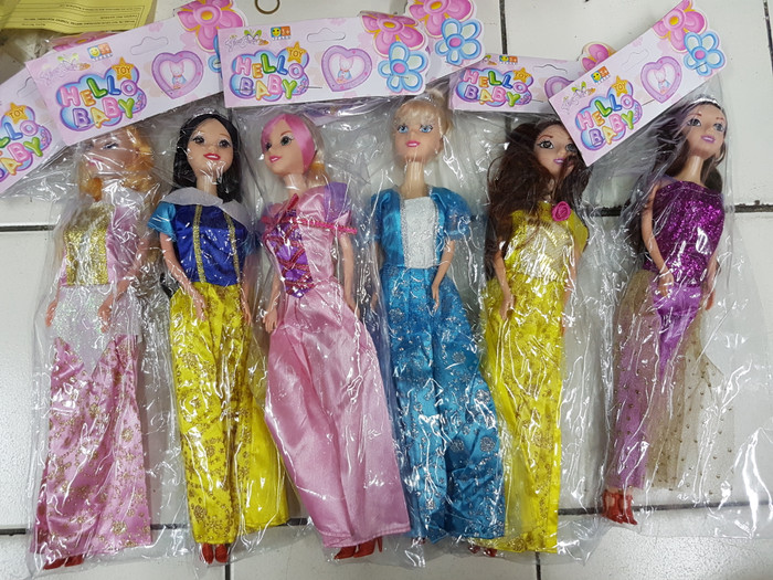 Jual boneka barbie murah boneka berbie princess - tingting27 shop ... 5446fcea1e