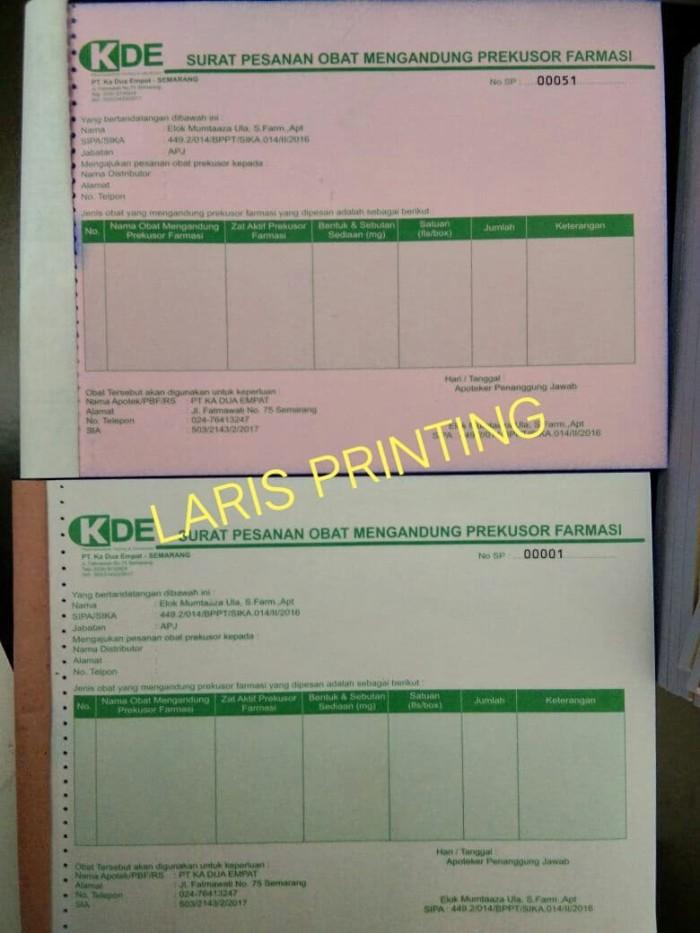 Jual Nota Surat Pesanan Obat Rangkap 2 Ukuran 12 Folio Pake Nomor Kota Semarang Laris Kreasi Tokopedia