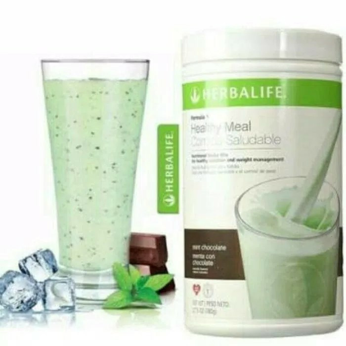 harga Herbalife#shake mixed#f1#coco mint# chocolate mint#coklat cocomint Tokopedia.com